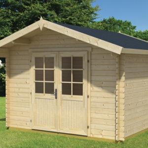 a4da085f79cc Ξύλινο Σπίτι Δάφνη 320 x 260 cm – GardenGallery