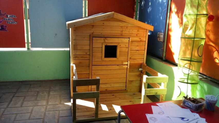 472a76391d3 Παιδικό Ξύλινο Σπίτι 140x105cm με μπαλκόνι – GardenGallery