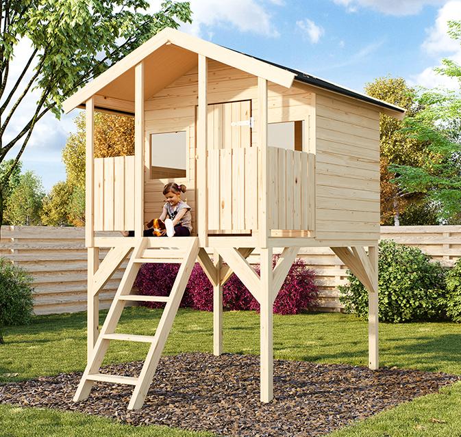 d320564e8a8 Παιδικό Ξύλινο Σπίτι Tombi 180x120cm – GardenGallery